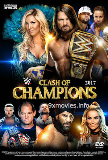 WWE Clash Of Champions 2017 PPV WEBRip 480p x264 650mb