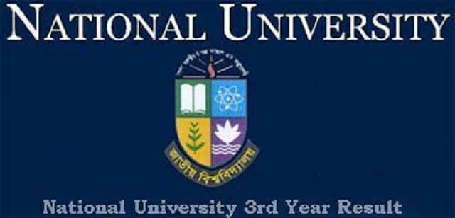 NU Honors 3rd year exam result