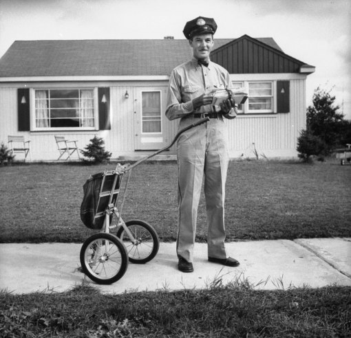 Vintage Photos Of The Us Postal Service In The Past