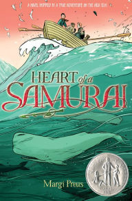 "Tween Book Group Reads ""Heart of a Samurai"" for June 8, 2017"