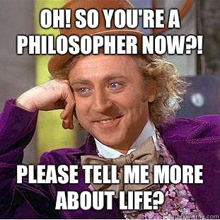 Para Pengejek dan Peminat Filsafat