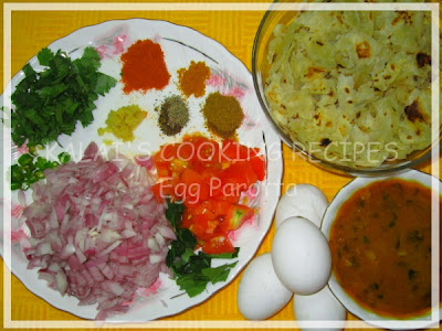 200th Post - Kalai's Egg Parotta