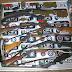 PM apreende oito armas de fogo e munições em Monte Santo