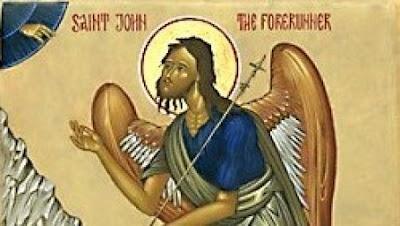 Saint John the Baptist, angel of the desert