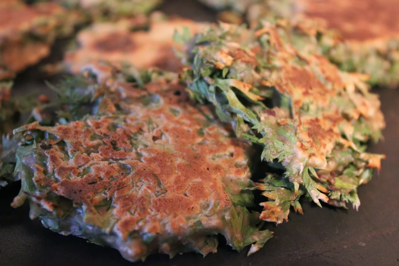 https://cuillereetsaladier.blogspot.com/2014/05/galettes-aux-fanes-de-carottes.html
