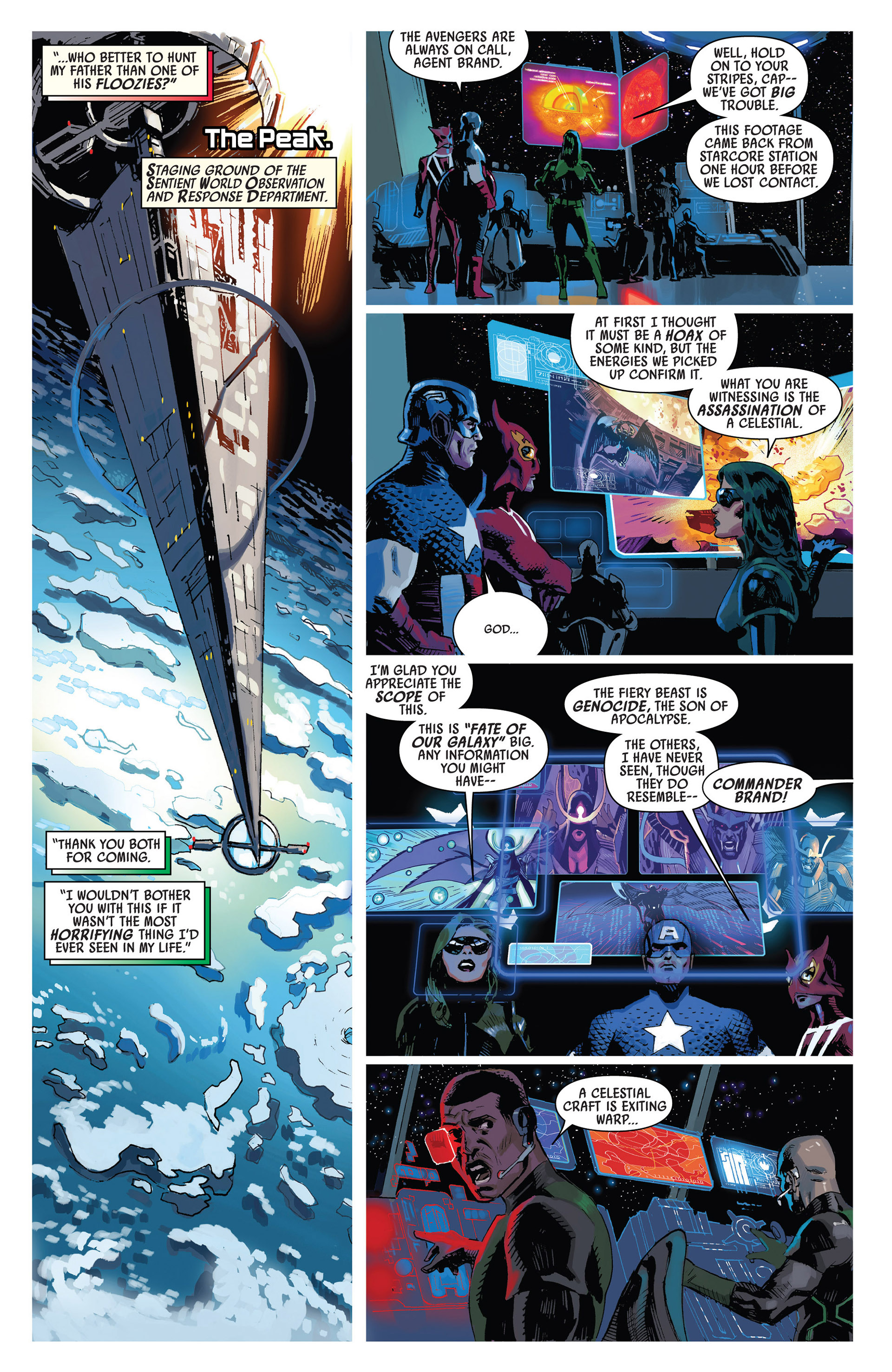Read online Uncanny Avengers (2012) comic -  Issue #7 - 12