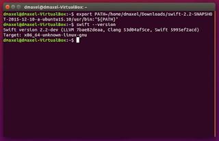 cài đặt Swift trên ubuntu