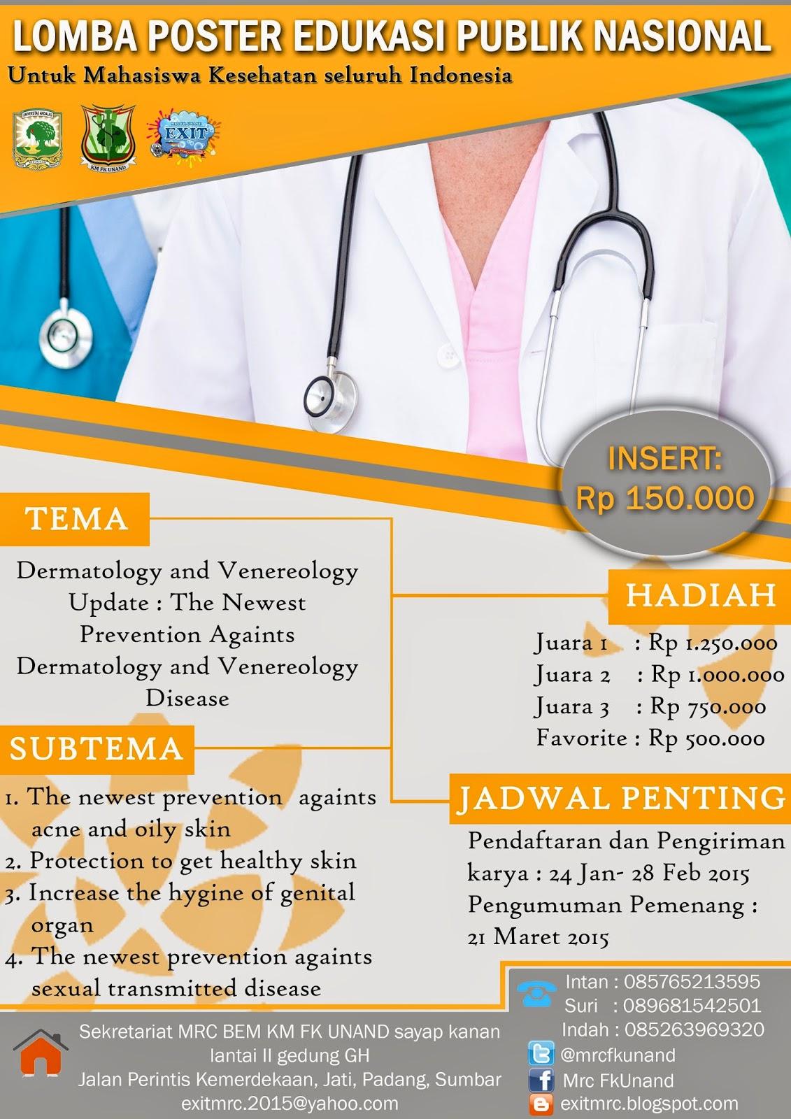 Lomba Gambar Poster Kesehatan