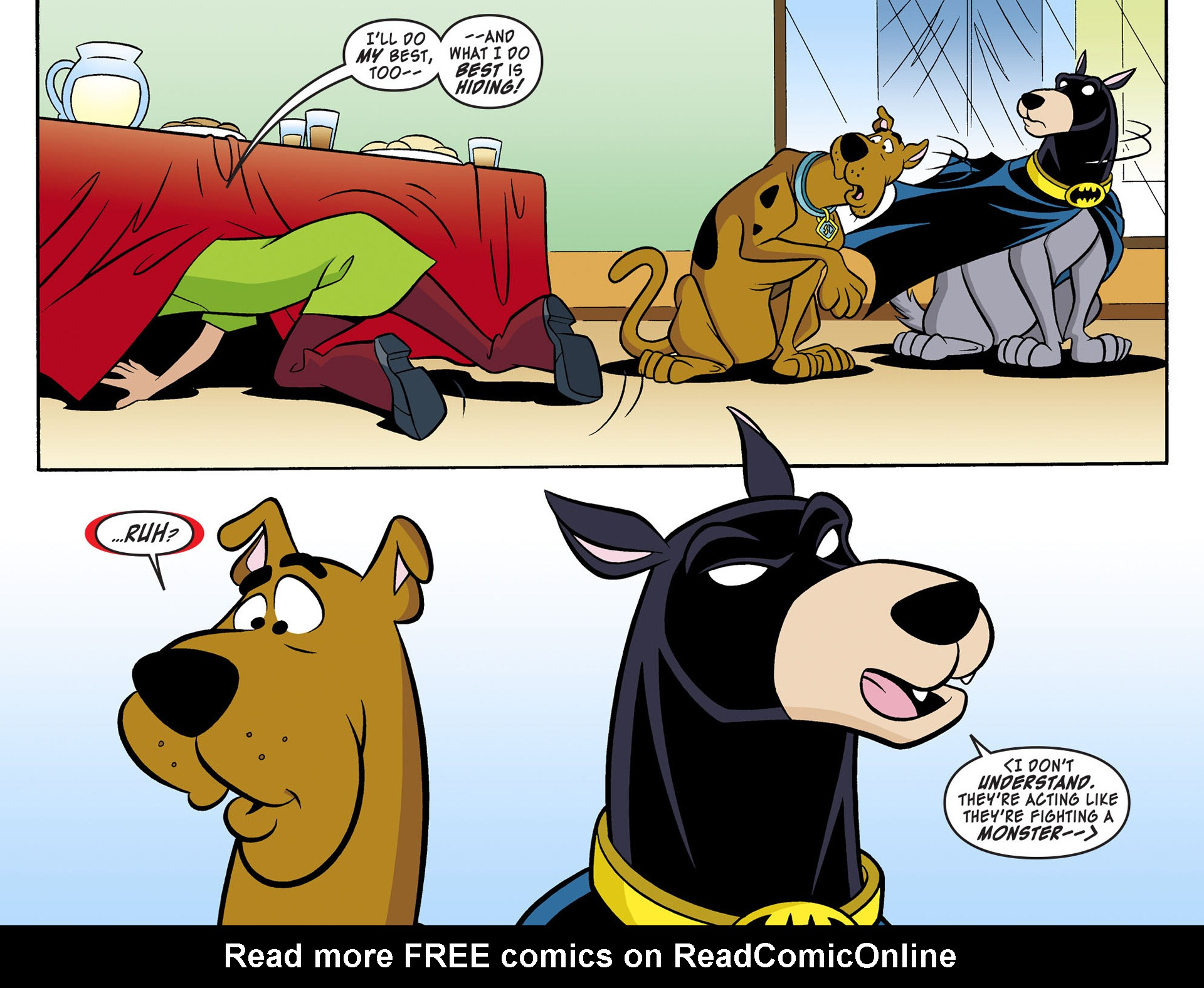 Read online Scooby-Doo! Team-Up comic -  Issue #3 - 12