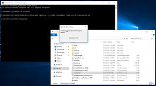 Khởi chạy sysprep kết hợp với tệp cấu hình unattend.xml triển khai cài đặt Windows 10 tự động