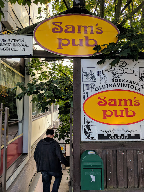 Sam's Pub: Great locals spot to discover on a road trip in Southern Finland