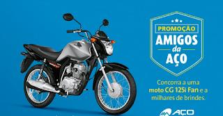 Participar promoção Amigos da Aço 2016