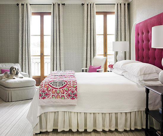 Modern Furniture: 2013 Bedroom Color Schemes From BHG