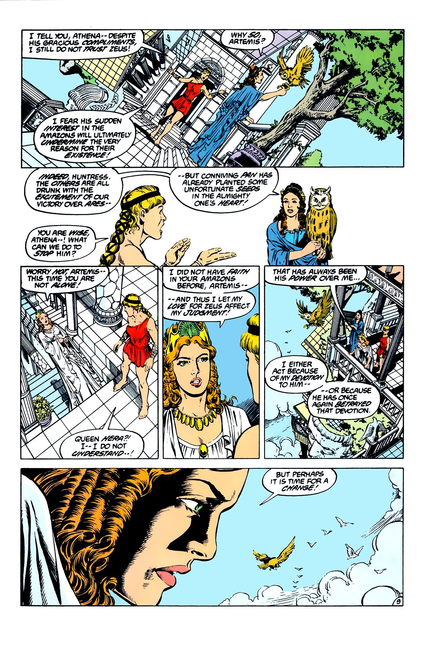 Read online Wonder Woman (1987) comic -  Issue #7 - 9