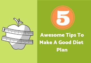 Diet plans tips
