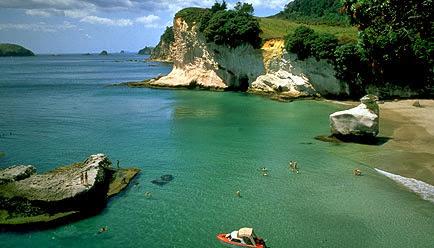 De turismo en Auckland, Nueva Zelanda