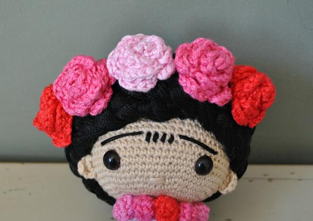Amigurumi Frida Kahlo : It s your birthday feel frida cry if you want to frida