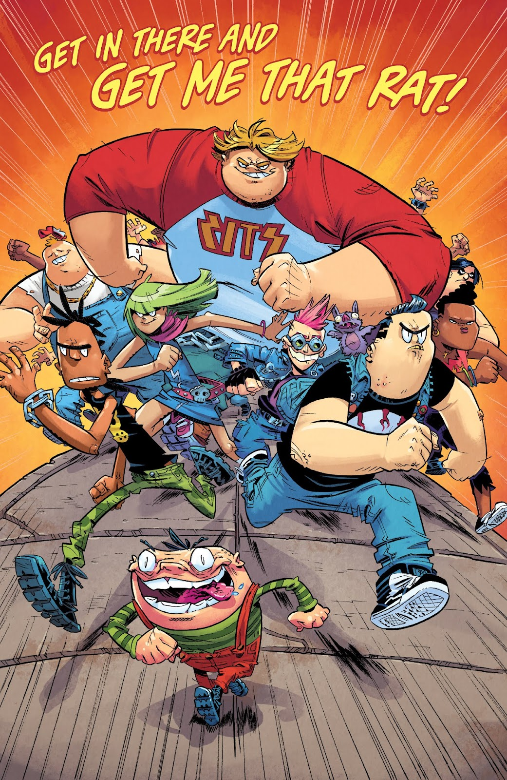 Read online Bully Wars comic -  Issue #3 - 21