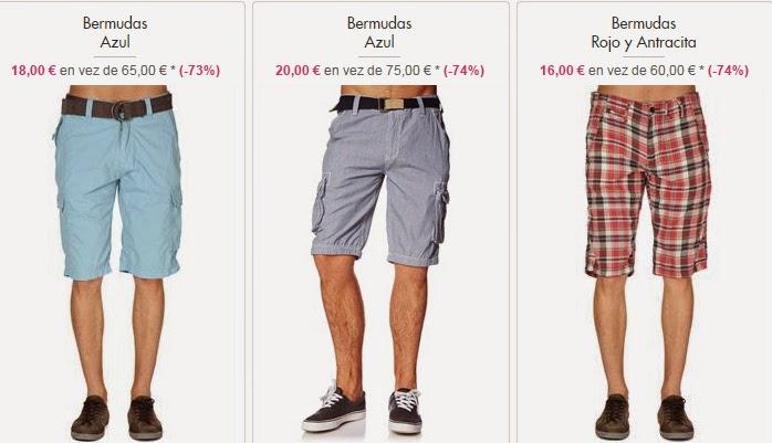 Bermudas para hombres