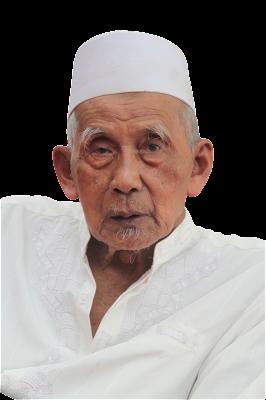 Foto KH Zaini Ilyas Miftahul Huda Rawalo