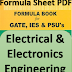 EEE Formula Sheet PDF Download for IES, GATE, etc.