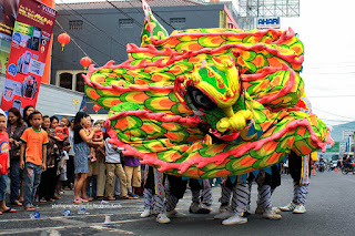 Liong Attractions on the Chinese New Year Celebrations