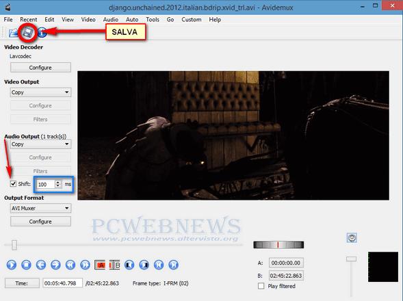 Sincronizzare audio con il video