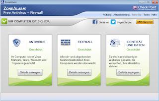 تنزيل برنامج مكافحة الفيروسات للكمبيوتر ZoneAlarm Antivirus