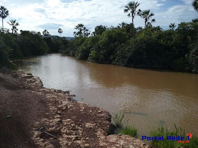 Leito do Rio Capivara que atravessa Pedro II
