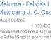 """La """"Carrilla"""" a Juan Carlos Osorio."""