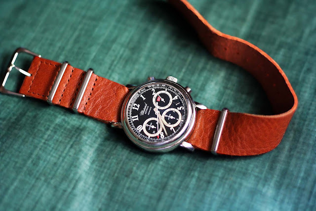 Chopard Mille Miglia with NATO leather strap