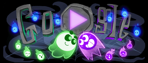 Google Doodle Halloween Frightfully Addictive Multiplayer Game