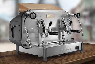 máquina de cafe expresso de pistón