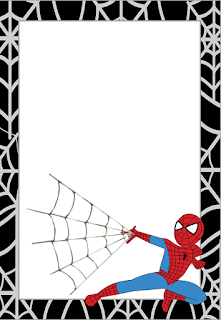 Spiderman Free Printable Invitations, Cards or Images.