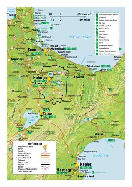 Map Of Rotorua New Zealand.Political Map Of Rotorua New Zealand Political Map Of New Zealand