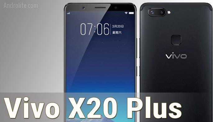 Vivo X20 Plus (X20+) Harga dan Spesifikasi Lengkap