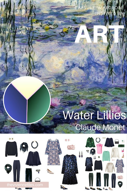 Can I Use Monet's Water Lilies as an Inspiration for my Evening Wardrobe?