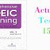Listening Comprehensive TOEIC Training - Actual Test 15