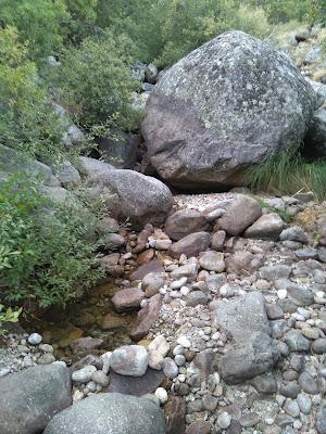 garganta de becedas en el valle del jerte