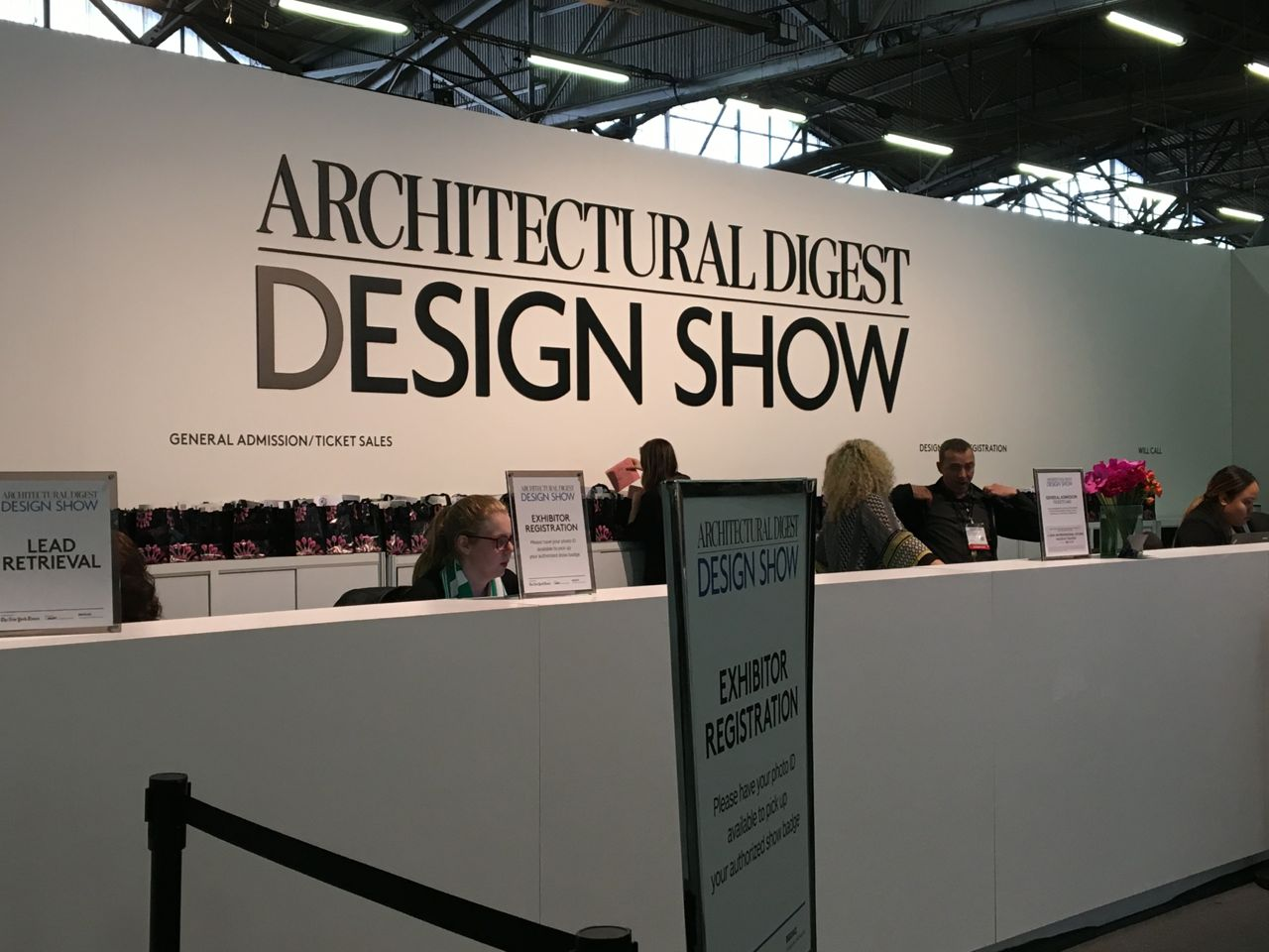 Pleasant living architectural digest show 2016 new york city for Architectural digest show
