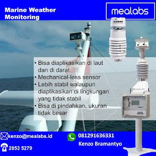 Pemantau Cuaca di kapal dan di laut