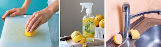 использование лимона в быту