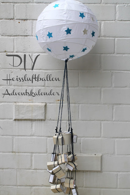 kleines freudenhaus ikea hack diy adventskalender heissluftballon. Black Bedroom Furniture Sets. Home Design Ideas