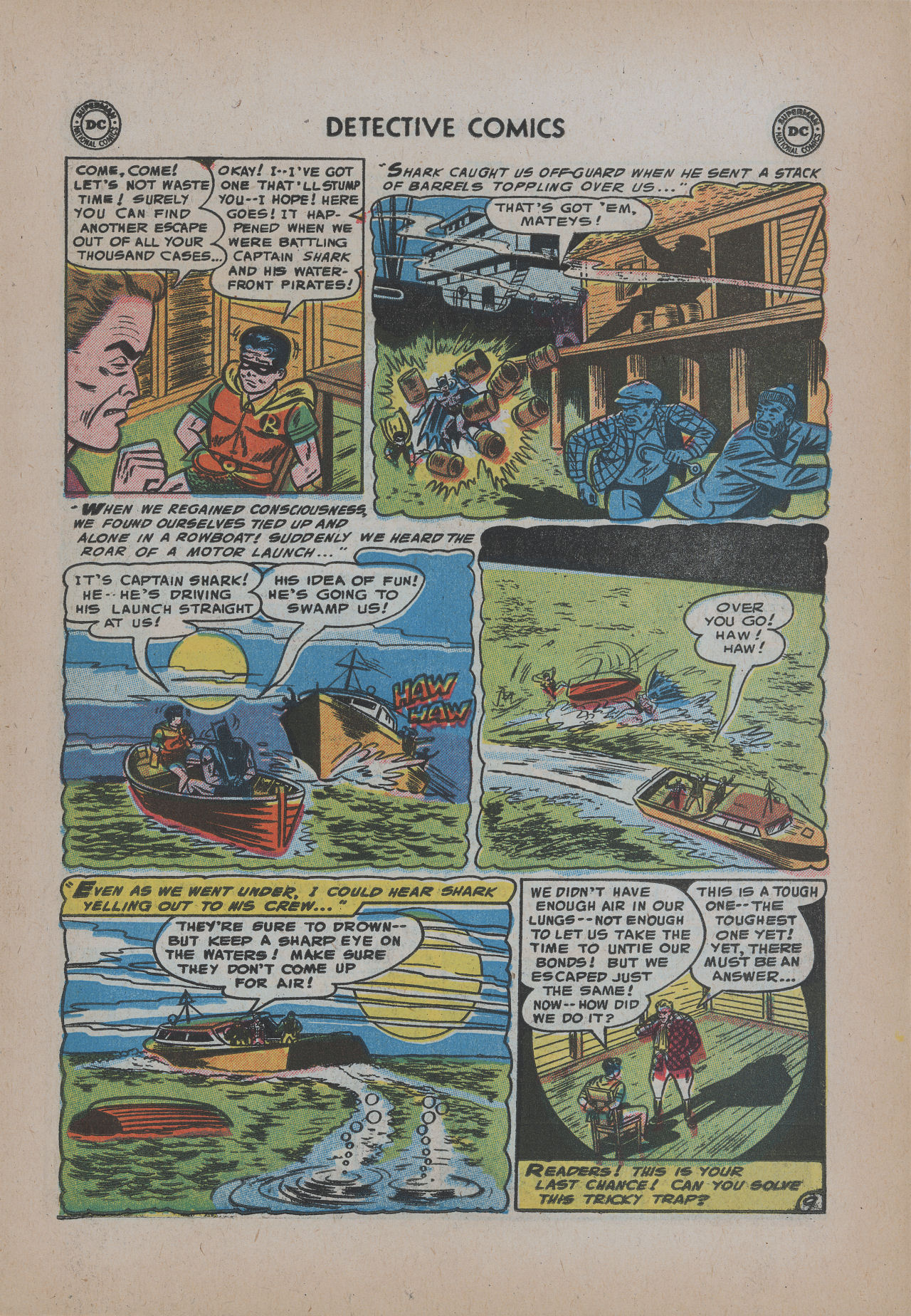 Detective Comics (1937) 221 Page 10