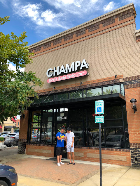 Champa Thai & Sushi Restaurant Review - Raleigh, NC