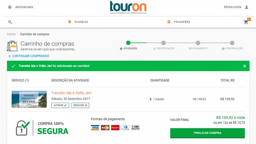 Ingressos on-line: como comprar e contratar transfer, tours e passeios - TourOn
