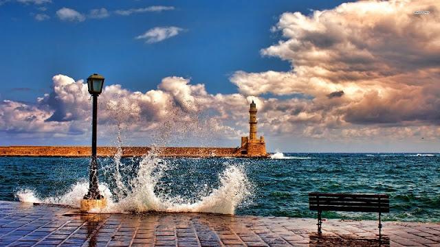 Passeio romântico pelas ruas de Chania, Creta
