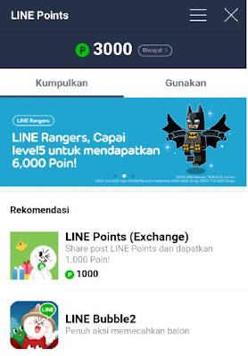 Cara Mudah Mendapatkan Koin dan Poin LINE Gratis Terbaru