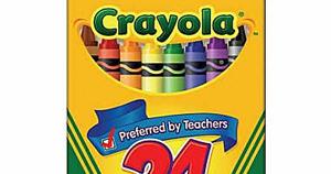 steward of savings free crayola crayons 24 ct pack at staples mobile