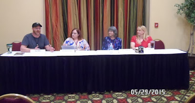 convention, panel, image, fiction, authors